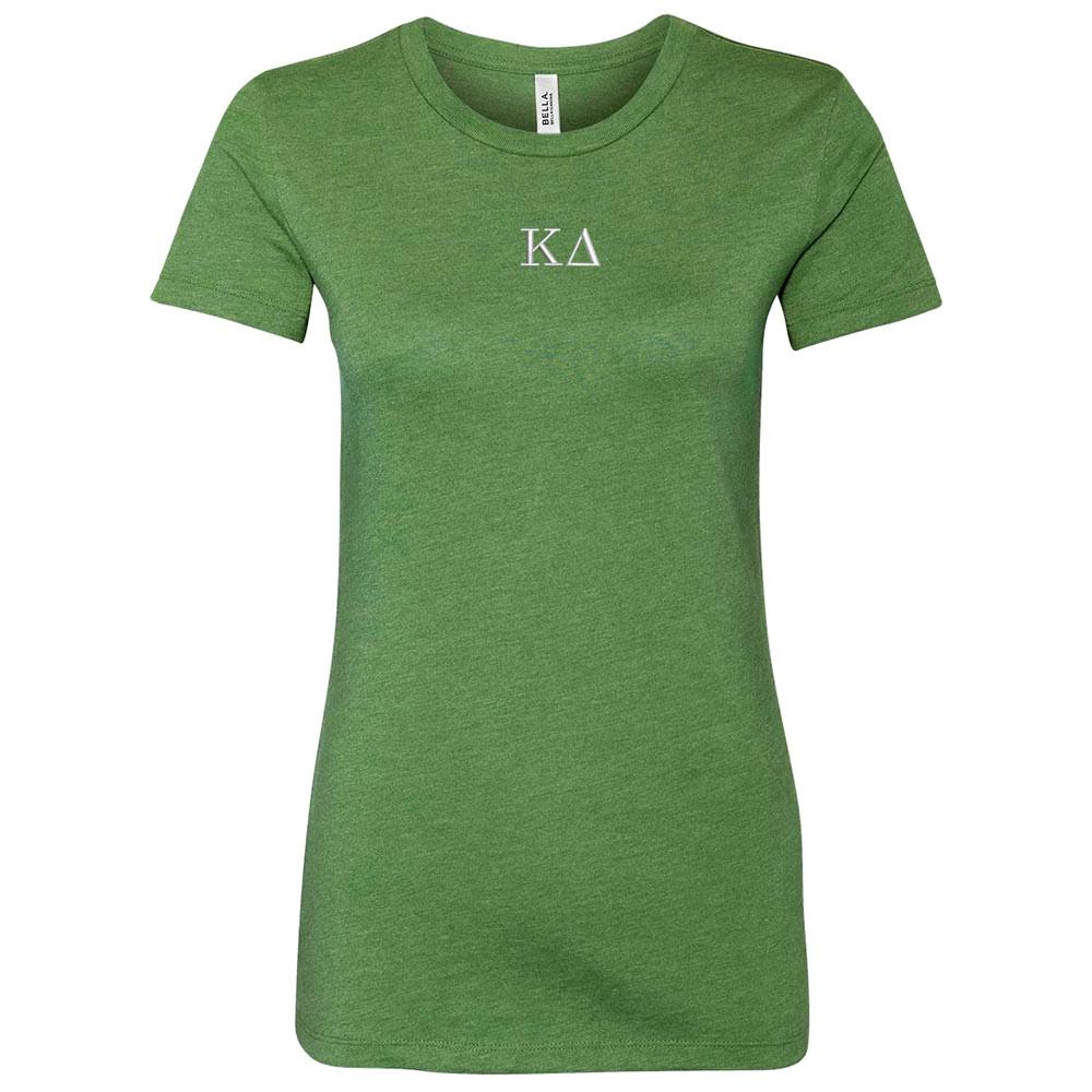 Sorority Embroidered Bella Short Sleeve T-Shirt