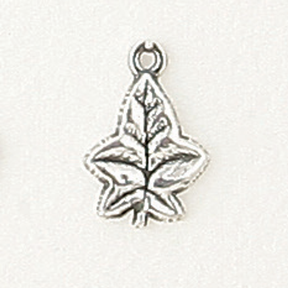 Sterling Silver Large Ivy Leaf Symbol