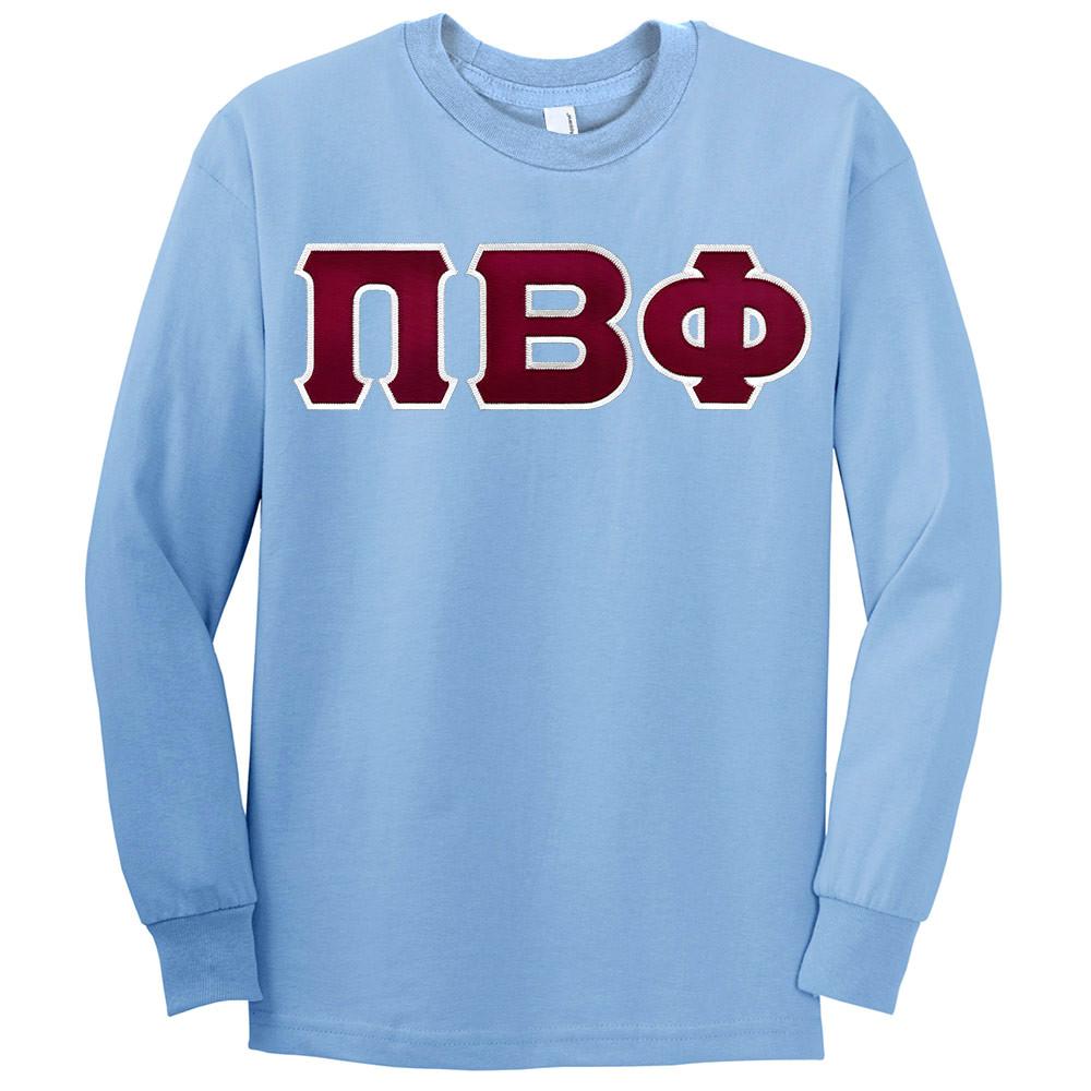 Fraternity & Sorority Lettered American Apparel Long Sleeve T-Shirt