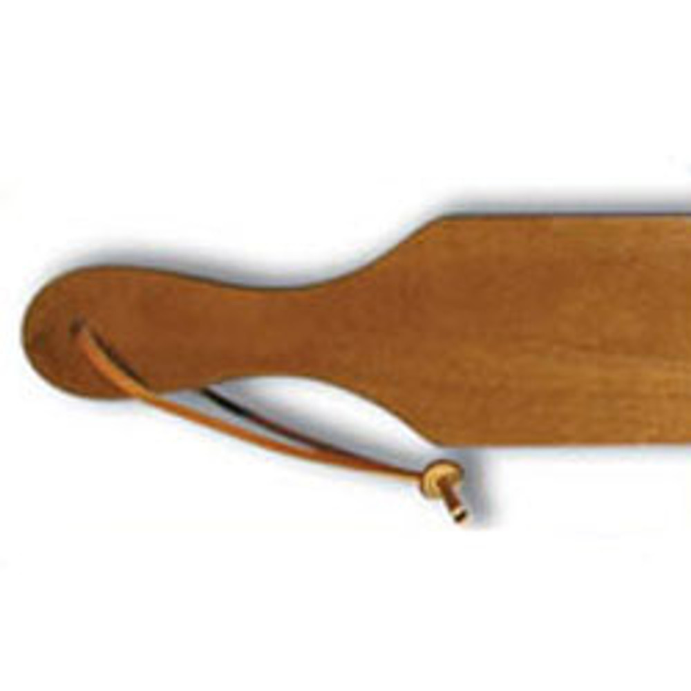Leather Strap for Blank and Symbol Paddles