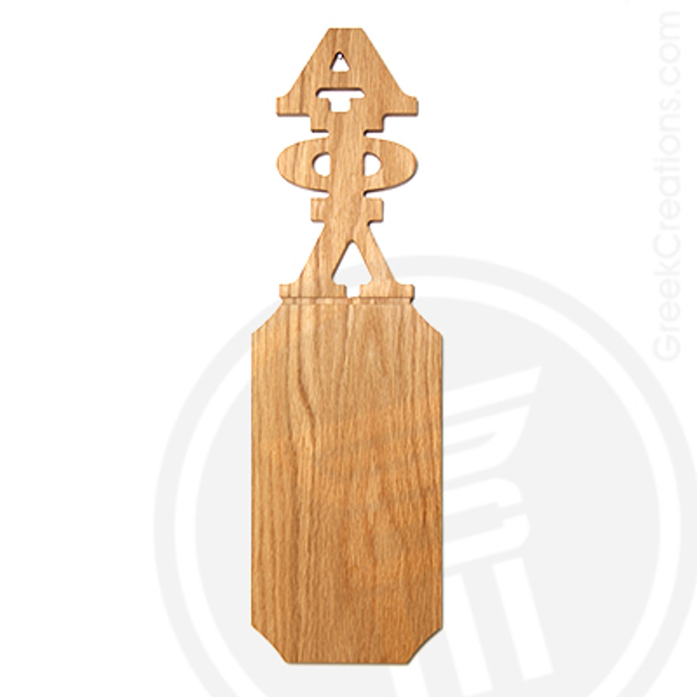 Alpha Phi Lambda 21 Inch Blank Greek Letter Paddle
