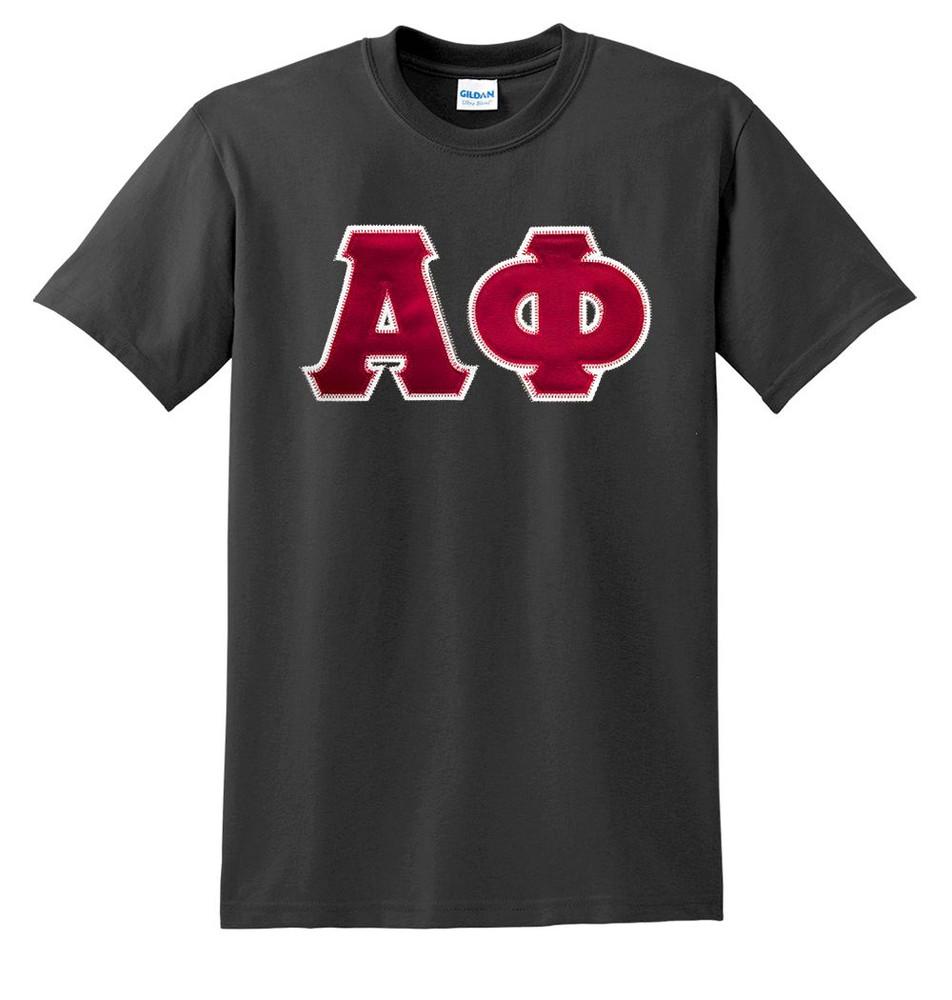 Fraternity & Sorority Lettered Gildan T-Shirt