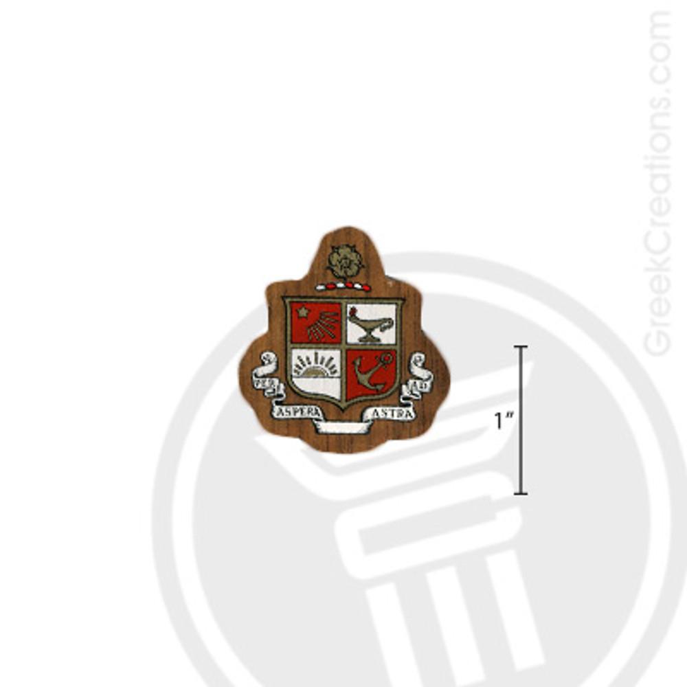 Beta Sigma Psi Small Raised Wooden Crest