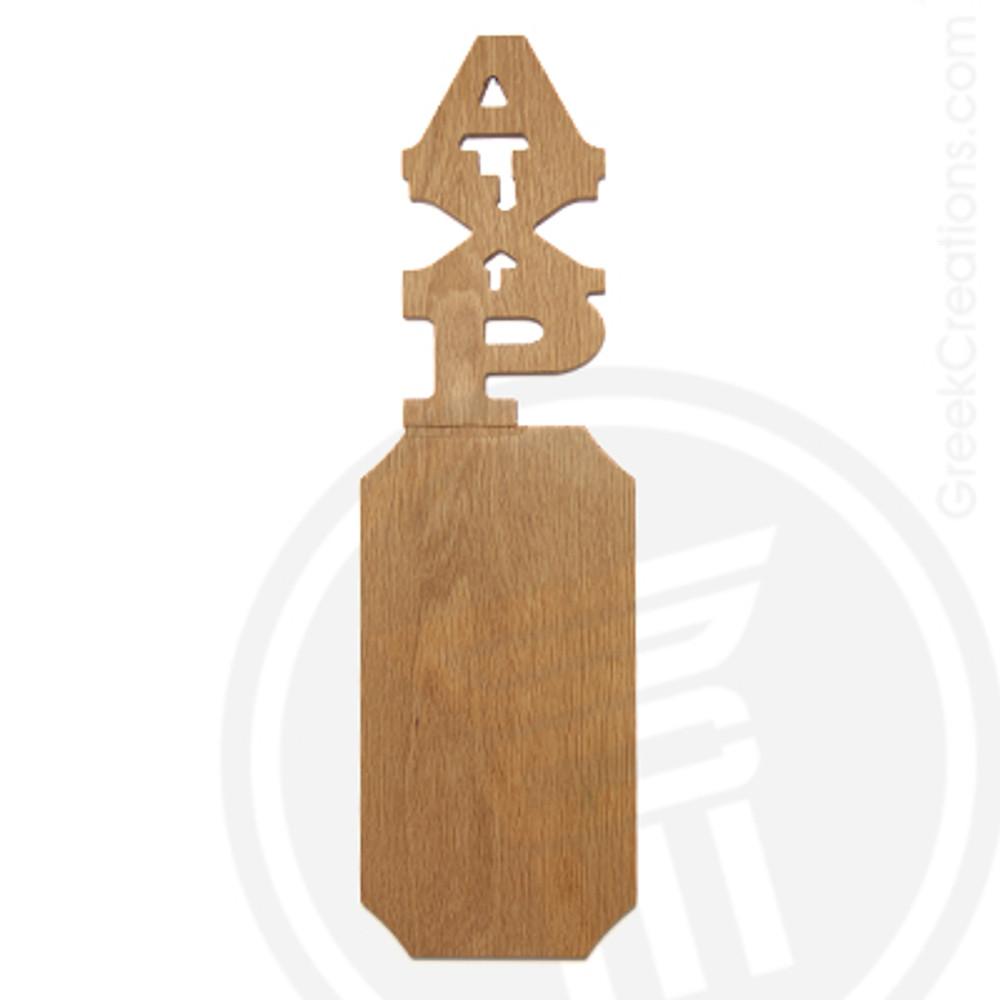 Alpha Chi Rho 21 Inch Blank Greek Letter Paddle