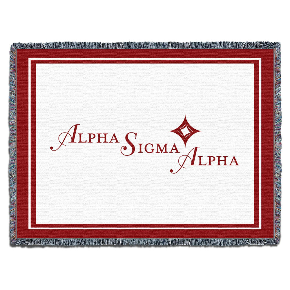 Alpha Sigma Alpha Blanket