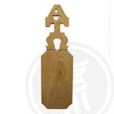 Alpha Tau Omega 21 Inch Blank Greek Letter Paddle