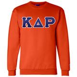 Fraternity & Sorority Lettered Champion Crewneck Sweatshirt
