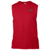 Fraternity Embroidered Gildan Sleeveless Shooter T-Shirt