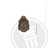 Delta Gamma Small Raised Wooden Crest