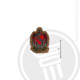 Tau Kappa Epsilon Small Raised Wooden Crest