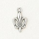 Sterling Silver Fleur De Lis Symbol