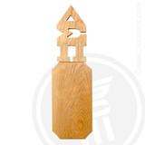 Delta Sigma Pi 21 Inch Blank Greek Letter Paddle