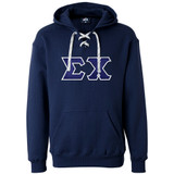 Fraternity Lettered J. America Hoodie