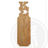 Kappa Sigma 21 Inch Blank Greek Letter Paddle