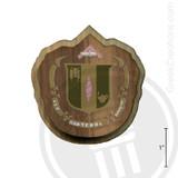 Delta Zeta Large Raised Wooden Crest