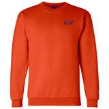 Fraternity & Sorority Embroidered Champion Crewneck Sweatshirt