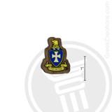 Sigma Chi Small Raised Wooden Crest