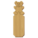 Alpha Xi Delta Bear Oak Plaque