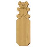 Alpha Xi Delta Bear Oak Plaque