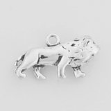 Sterling Silver Lion Symbol