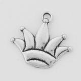 Sterling Silver Crown Symbol