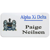 Greek Fraternity and Sorority Large Name Badge With Magnet