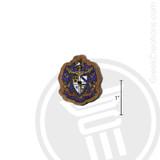 Sigma Alpha Epsilon Small Raised Wooden Crest