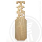 Tau Kappa Epsilon 21 Inch Blank Greek Letter Paddle