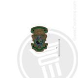 Lambda Chi Alpha Small Raised Wooden Crest