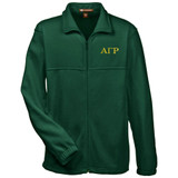 Fraternity Embroidered Full Zip Polar Fleece Jacket