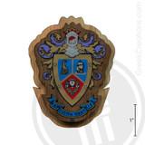 Delta Sigma Pi Large Raised Wooden Crest