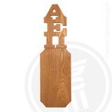 Alpha Epsilon Pi 21 Inch Blank Greek Letter Paddle