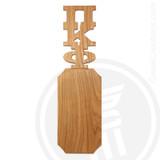 Pi Kappa Phi 21 Inch Blank Greek Letter Paddle