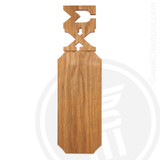 Sigma Chi 21 Inch Blank Greek Letter Paddle