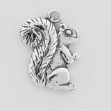 Sterling Silver Squirrel Symbol