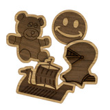Double Layer Wooden Mascot & Symbol Designs