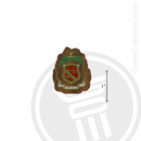 Phi Kappa Psi Small Raised Wooden Crest