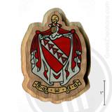 Tau Kappa Epsilon Large Raised Wooden Crest