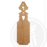 Alpha Chi Omega 21 Inch Blank Greek Letter Paddle