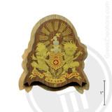 Kappa Alpha Large Raised Wooden Crest