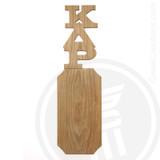 Kappa Delta Rho 21 Inch Blank Greek Letter Paddle