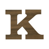 3/4 Inch Regular Wood Letters or Numbers