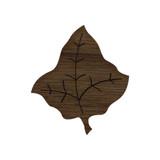 Wooden Leaf Symbol