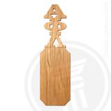 Alpha Phi Lambda 21 Inch Blank Greek Letter Paddle