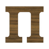 1 1/2 Inch Regular Wood Letters or Numbers