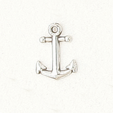 Sterling Silver Small Anchor Symbol