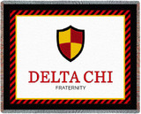 Delta Chi Tapestry Throw