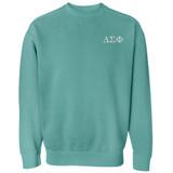 Fraternity & Sorority Comfort Colors Crewneck Sweatshirt