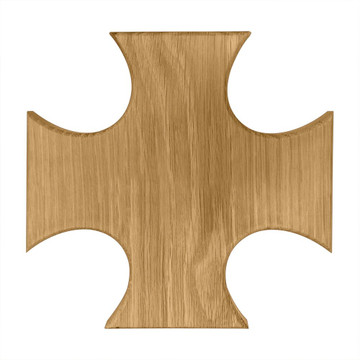 Phi Kappa Sigma Maltese Cross Board or Plaque
