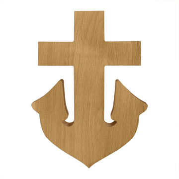 Delta Gamma Anchor Board or Plaque